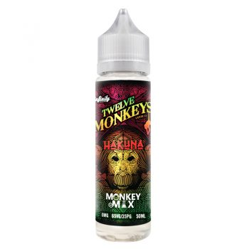 Twelve Monkeys - Hakuna - 50ml Shortfill