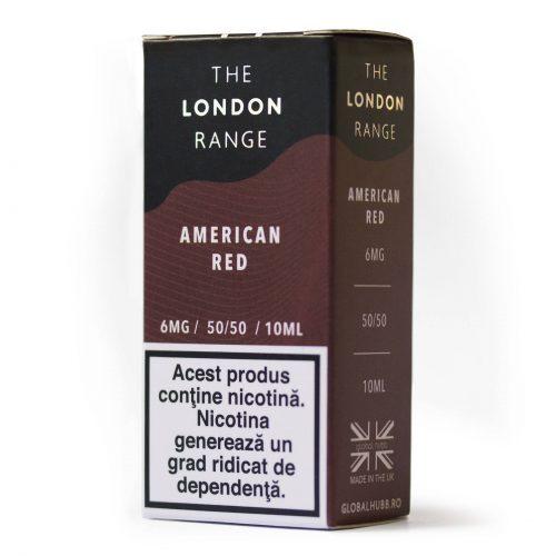 The London Range - American Red | Global Hubb