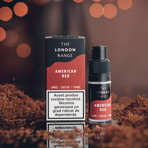 20 pack The London Range – American Red 12mg | Global Hubb