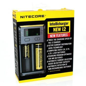 Nitecore i2 Intellicharger 2-Bay