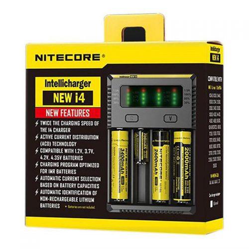 Nitecore i4 Intellicharger 4-Bay