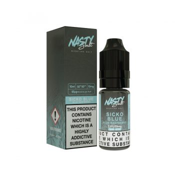 Nasty Juice - Nic Salts - Sicko Blue Salt Nic [20mg]