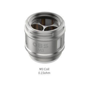 OBS Cube Coils - 5 Pack [M3 0.15ohm]