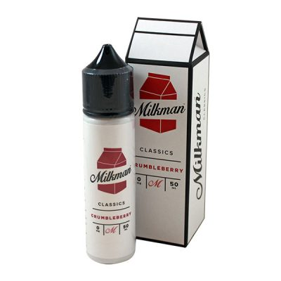 The Milkman - 50ml Shortfill - Crumbleberry