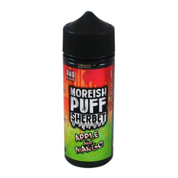 Moreish Puff - 100ml Shortfill -  Sherbet Apple & Mango