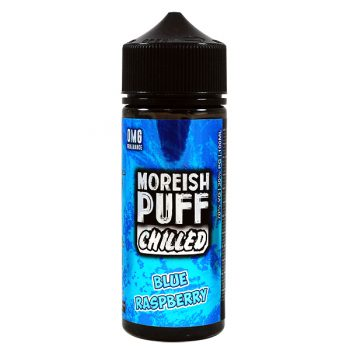 Moreish Puff - 100ml Shortfill -  Chilled Blue Raspberry