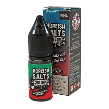 Moreish Puff - Nic Salt 10ml - Watermelon & Cherry [20mg]