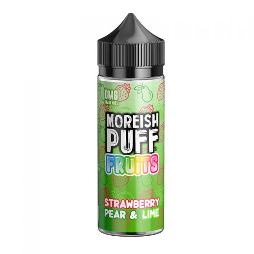 Moreish Puff - 100ml - Strawberry Pear and Lime | Global Hubb