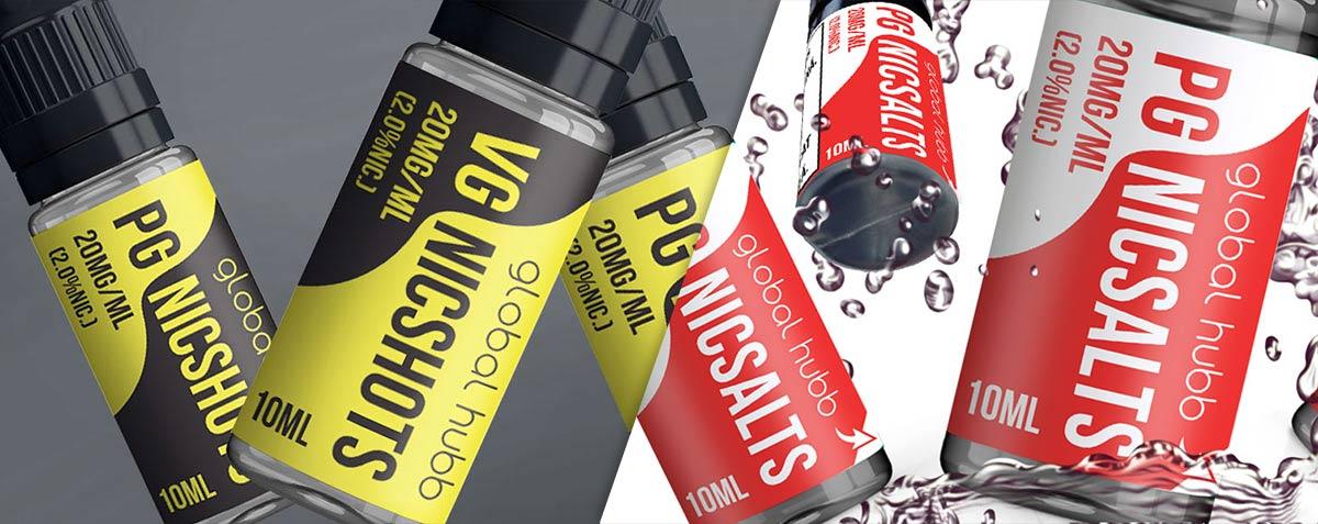 Global Hubb - NicShot / NicSalt - Nicotinizaerea lichidelor pentru tigari electronice