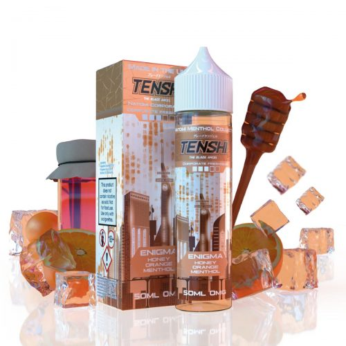 Tenshi Vapes - 50ml - Enigma Honey Orange Menthol | Global Hubb