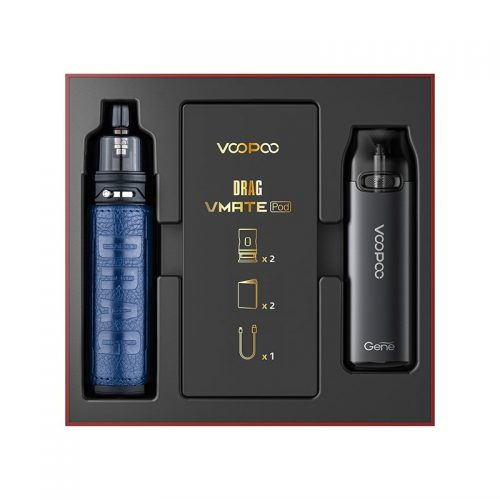 Voopoo Limited Edition Drag X & Vmate Pod Kit [Galaxy Blue] | Global Hubb